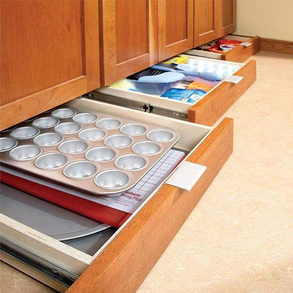 underneath pull out drawers