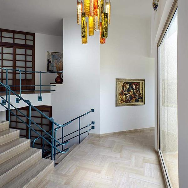 multi floor stair case