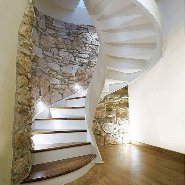 stone spiral stair projects
