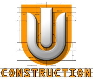 UI CONSTRUCTION Home Design and remodeling Logo