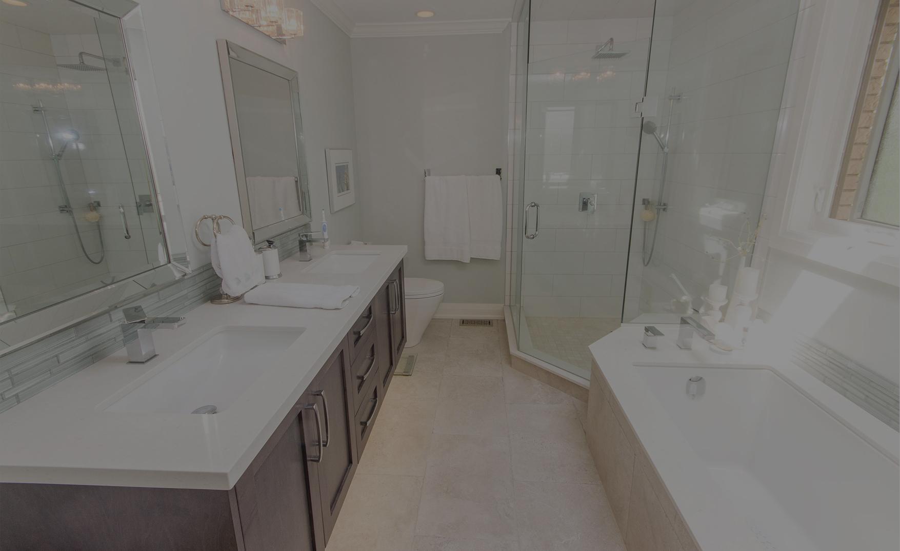 UI Construction Full Bathroom Remodel